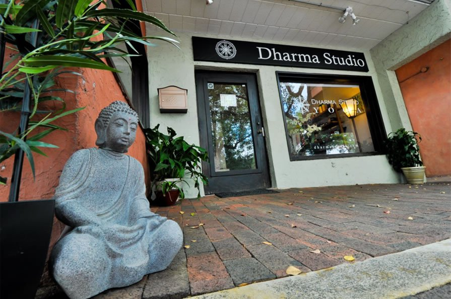 Dharma Studio is located in the heart of Coconut Grove, just minutes from Coral Gables, South Miami, the Roads, Brickell, Downtown Miami, Key Biscayne, Shenandoah and the University of Miami